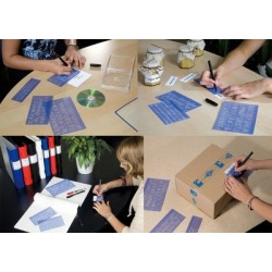 Wedo kit trace-lettres, hauteur de caractères: 5 mm, 10 mm,