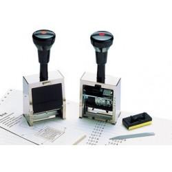 Reiner réservoir de rechange pour numéroteur, num. 4, noir (LOT DE 2)