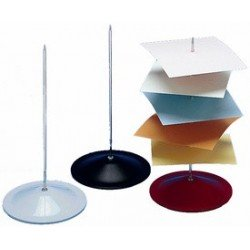 Wedo pique-notes, métal, couleurs assorties, hauteur: 180 mm (LOT DE 10)