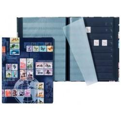 Pagna album pour timbres postaux, format a5, 16 pages