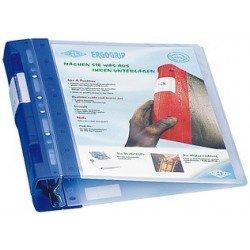 Wedo ergogrip classeur de présentation ice, 30 mm, ice-bleu