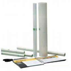 Agipa film couvre-livres, adhésif, 1000 mm x 10 m