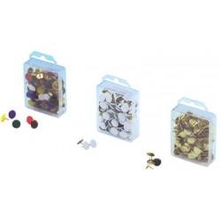 Wedo punaises, blanches, diamètre: 10 mm, petit paquet
