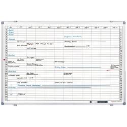Magnetoplan planning mensuel, (l)920 x (h)625 mm