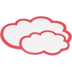 Magnetoplan carte de modération nuages, 430 x 265 mm
