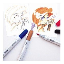 Copic hobbymarker ciao, kit de 36, encre à base d'alcool,