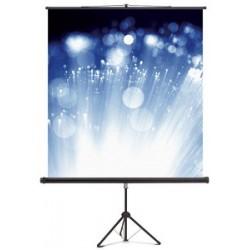 Magnetoplan toile à projection sur trépied, 1.800 x 1.800 mm
