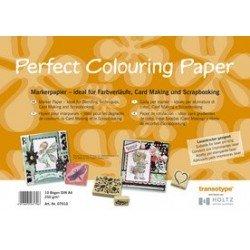 Copic papier pour marqueurs de format a4, 250g/qm, 10