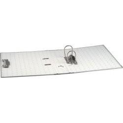 Exacompta classeur à levier papier marbré, a4, 80 mm, gris
