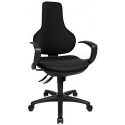 "Topstar fauteuil de bureau ""ergo point sy"", noir"