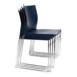 "Topstar chaise de bureau ""w-chair"", blanc (LOT DE 4)"