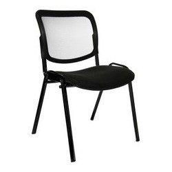 """Topstar chaise de bureau """"net point visit noir"""", rouge (LOT DE 4)"""