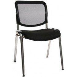 """Topstar chaise de bureau """"net point visit chrom"""", anthracite (LOT DE 4)"""