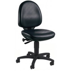 "Topstar chaise de bureau pivotante ""tec 50 counter"", noir"