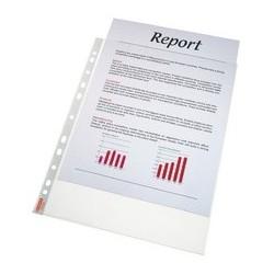 Esselte pochettes perforées standard, a4, pp, transparent,