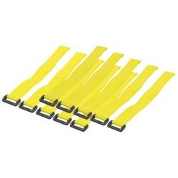 Logilink attache-câble velcro, 150 x 20 mm, contenu: 10 pièc