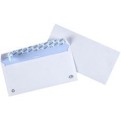 Gpv enveloppes, dl, 110 x 220 mm, blanc, avec fenêtre