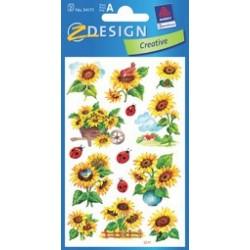 """Avery zweckform sticker """"tournesols & coccinelles"""" design-z"""