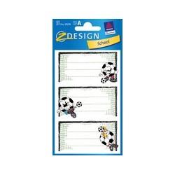 """Avery zweckform étiquettes pour livres """"poteaux de football"""""""
