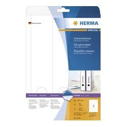 Herma étiquettes superprint pour classeur, 297 x 59 mm, long
