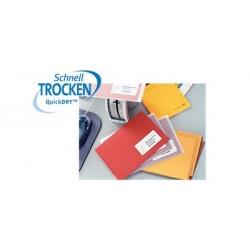 Avery zweckform étiquettes adresses jet d'encre, 63,5 x 38,1