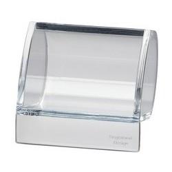 Maul distributeur de trombones en acrylique, transparent,