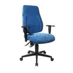 "Topstar fauteuil de bureau ""lady sitness deluxe"", bleu"