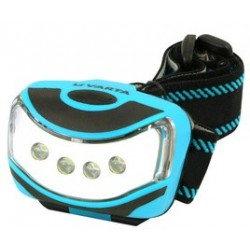 "Varta lampe frontale led ""outdoor sports"", 4 leds"