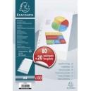 Exacompta pochette perforée, pack promo 40+10 gratuits, a4,