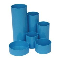 "Wedo pot à crayon multiple junior ""bright color"", 6 pots (LOT DE 6)"