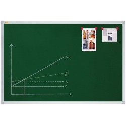 Franken tableau à craie x-tra! line,  1.200 x 900 mm, vert