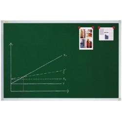 Franken tableau à craie x-tra! line,  1.800 x 1.200 mm, vert