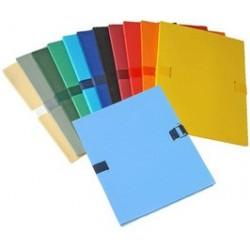 Elba chemise extensible à sangle color life, a4, bleu clair