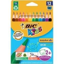 Bic kids crayons de couleur evolution triangle, triangulaire