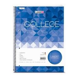 """LandrÉ collegeblock """"college"""", format a4, ligné, 80 feuilles"""