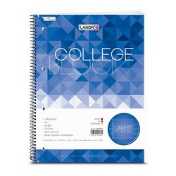 """LandrÉ collegeblock """"college"""", a4, quadrillé, 80 feuilles"""