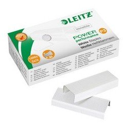 Leitz agrafes 24/ 6 power performance p3, argent