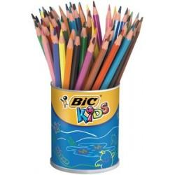 Bic kids crayons de couleur evolution ecolutions, boîte à 60