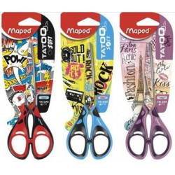 Maped ciseaux tatoo soft teen, ronds, longueur: 160 mm
