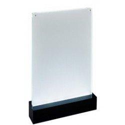 """Sigel présentoir de table led """"luminous"""", acrylique, a6"""