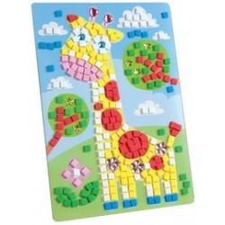 """Folia mosaique de caoutchouc de mousse """"girafe"""", 405 pièces"""