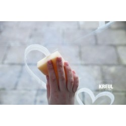 Kreul marqueur à craie chalky, medium, frosty apricot
