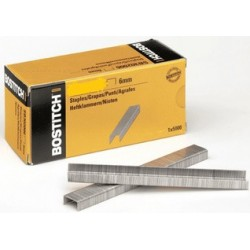 Bostitch agrafes stcr 2619 1/4, 6 mm, galvanisé