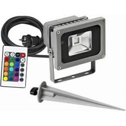 Brennenstuhl projecteur led chip 10w multicolore ip65