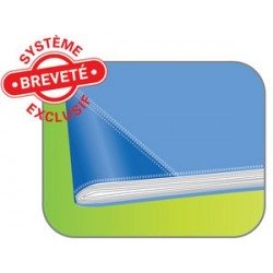Elba protège-cahier strong line, 170 x 220 mm, jaune (LOT DE 25)