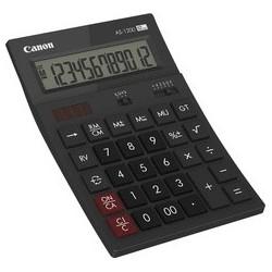 Canon calculatrice de bureau as-1200, alimentation solaire