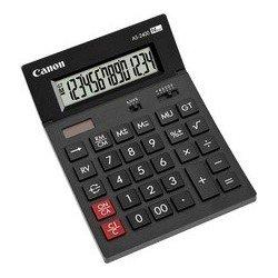Canon calculatrice de bureau as-2400, alimentation solaire