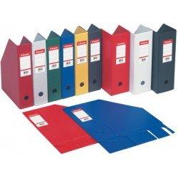 Esselte boîte de classement, en pvc, bleu, format a4 maxi,