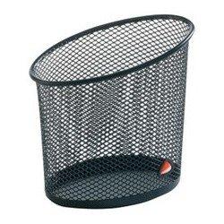 Alba pot à crayons mesh, en fil d'acier, noir