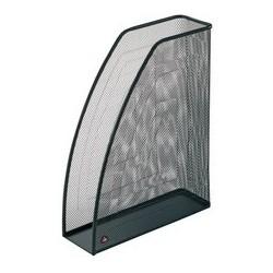 Alba porte-revue mesh, a4, en fil d'acier, noir